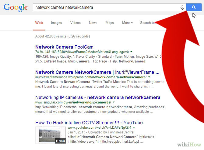 How to hack cctv camera from google search - Welcome To